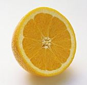 Half of a Fresh Orange