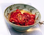 A Bowl of Sun Dried Tomatoes