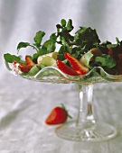 Watercress and Strawberry Salad