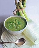 A Bowl of Asparagus Soup