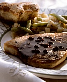 Swordfish with Balsamic Caper Sauce