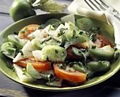 Jicama Tomatillo Salad