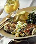 Crab Cakes with Fruit Salsa