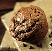 Whole Chocolate Graham Muffin
