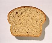 Single Slice of Wheat Bread