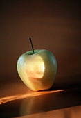 One Single Golden Delicious Apple