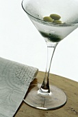 Vodka Martini with Olives