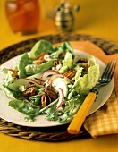 Butterhead Lettuce Salad with Pecans