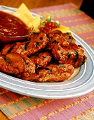 Barbecue Chicken Drumettes
