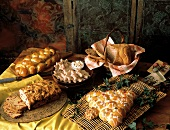 Assorted Christmas Breads