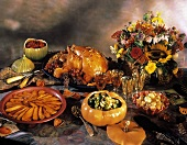 Festive Thanksgiving Menu Buffet
