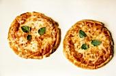Two Cheese Pita Pizzas