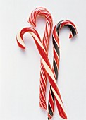 Three Assorted Candy Canes