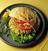 Nutty Rice Burger