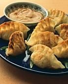Fried Chinese Ravioli with Dipping Sauce