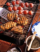 Swordfish Fillets on the Grill with Marinade