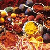 Colorful Spice Still Life