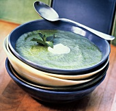 Pureed Spinach Soup
