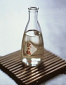 Asian Bottle with Sake