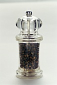 A Pepper Mill Filled with Fresh Pepper