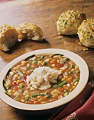 Crab and Vegetable Soup