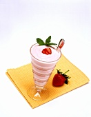Strawberry Shake and Spoon