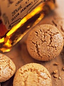 Amaretti di Saronno (Almond biscuits and almond liqueur, Italy)