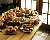 Assorted Baked Goods on Table
