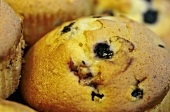 A Blueberry Muffin Up Close