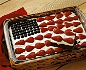 Chocolate Cake for July 4th