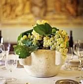 Green Grape Table Centerpiece
