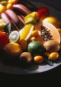 Tropical Fruit Still Life; Soft Focus