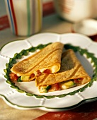 Tomato and Avocado Quesadilla