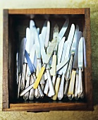 A Drawer Filled with Knives