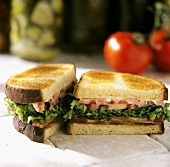 BLT with Canadian Bacon