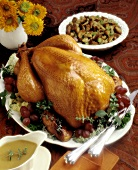 Roast Turkey with Herbed Stuffing