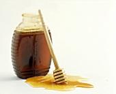 A Jar of Honey with Server