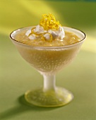 A Bowl of Lemon Tapioca Pudding