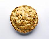 Apple Pie (Apfelkuchen mit Teighaube)