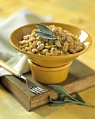 Fagioli alla senese (White bean salad with sage)