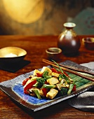 Tofu and Vegetables