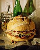 Whole Muffaletta Sandwich