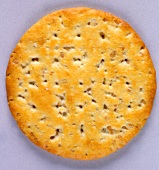 A Toasted Sesame Seed Cracker