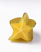 Star Fruit Cut in Half(Carambola)