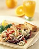 Cold Mixed Seafood Salad