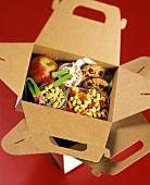 A Vegetarian Box Lunch