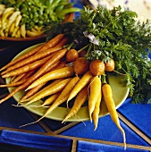 Three Varieties of Carrots