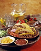 Beef Tacos with all Accompaniments