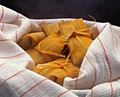 Tamales in a Dish Cloth