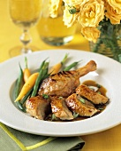 Chicken with Carrots and Green Beans